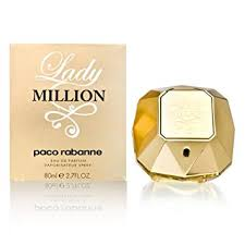 Lady Million by Paco Rabanne 2.7 oz Eau de Parfum ... - Amazon.com