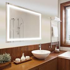 dyconn edison in x in led wall mounted backlit vanity led wall mounted backlit vanity bathroom led mirror