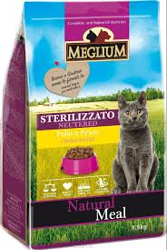 <b>MEGLIUM</b> Neutered <b>Cat</b> Chicken / Fish сухой для ...