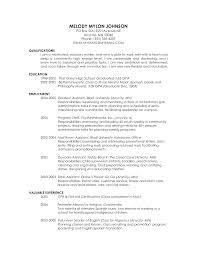 resume how to list education on resume resume template example