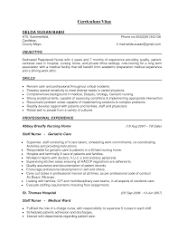sample curriculum vitae for er nurses friendly letter basics sample curriculum vitae for er nurses