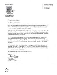 principal recommendation letter letter format  principal recommendation