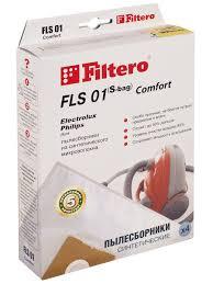 Мешки-<b>пылесборники</b> FLS 01 (S-bag) Comfort, 4 шт., для PHILIPS ...