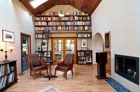 harmonious library home reading room home office library decoration modern furniture