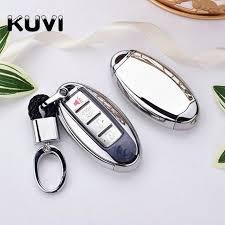 <b>TPU</b>+<b>PC Car</b> Remote Key Cover Case key chain For Nissan ...