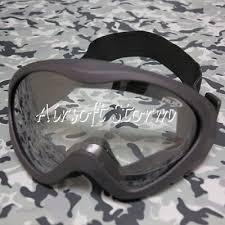 Airsoft SWAT UV400 Wind <b>Dust Tactical</b> Goggle <b>Glasses</b> Black ...