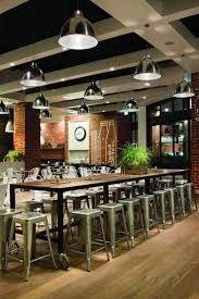 cafe interior design kitchen capital cafe interior design with plastic chairs and a long table capital group interiors capital group office interior