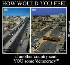 Spreading democracy meme | Through a Rose Tinted Lens via Relatably.com