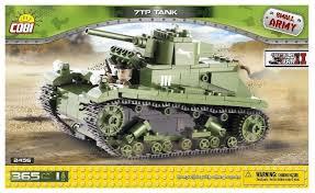 <b>Конструктор Cobi Small Army</b> World War II 2456 Легкий танк 7TP ...