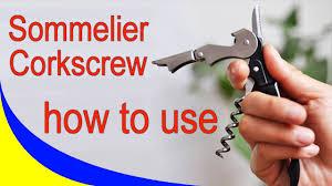 <b>Нож Сомелье</b>, Штопор Сомелье, как использовать, как открыть ...