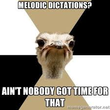 Music Major Ostrich via Meme Generator | Music is My Life ... via Relatably.com