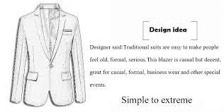 Benibos Mens Slim Fit Casual <b>One Button Blazer Jacket</b>: Amazon.co ...