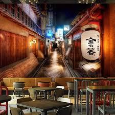 RTFC <b>Custom</b> Mural Wall <b>Painting</b> Retro Streets Japanese <b>Style</b> ...