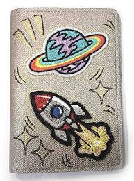 Beige Passport Cover Case Holder PU Leather Space ... - Amazon.com