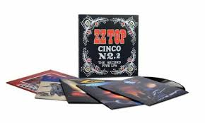 <b>ZZ Top Cinco</b> No. 2 - The Second Five LPS 5 Vinyl LP BOXSET for ...