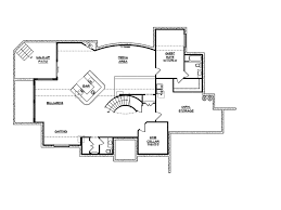 Viscaya Luxury Italian Home Plan D    House Plans and MoreSunbelt Home Plan Lower Level Floor   D    House Plans and More