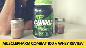 MusclePharm <b>Combat 100</b>% <b>Whey</b> Review — Cheap But Still Good ...