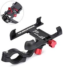 Universal Bike Phone Mount, <b>Aluminum Alloy Bicycle Phone</b> Holder ...