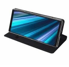 <b>Чехол</b>-книжка <b>Brosco для Sony Xperia</b> 1. Цвет: черный купить в ...