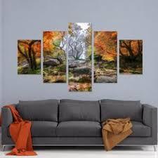 <b>5 Pieces</b> HD Print Painting Colors Of Paradise <b>Sunset Landscape</b> ...