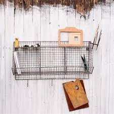 Locker Room Storage | Wire Shelving | Nkuku - Design Vintage