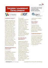 portfolio sikorski leadership development flyer sikorski leadership 1 flyer sikorski leadership 2