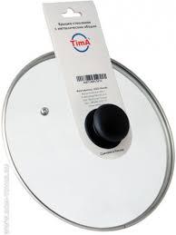 Купить <b>Крышка</b> стеклянная <b>Tima</b>, диаметр: <b>18см</b>./<b>Крышки</b> ...