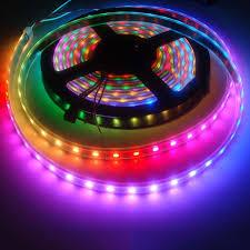 1M WS2812 5v <b>30Led</b>/M RGB Dream Full color The neon lights LED ...