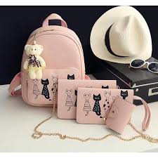 <b>4pcs</b>/<b>Set Cat</b> Backpack - FreakyPet