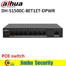 Dahua 8 ports POE switch S1500C 8ET1ET DPWR <b>IEEE802</b>.<b>3af</b> ...