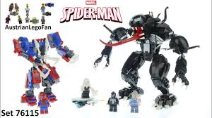 <b>Lego</b> Speed Build Spiderman Spider Mech vs. Venom <b>Lego 76115</b> ...