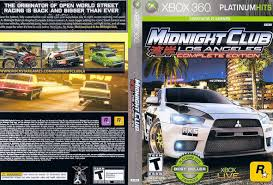 Midnight Club: Los Angeles Complete Edition RGH Español Xbox [Mega+]