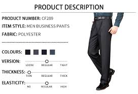 High Quality 29 44 Featured <b>Summer Business</b> Baggy Pants for <b>Men</b> ...