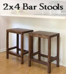free diy furniture project plan learn how to make half lap bar stools from build your own wood furniture