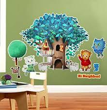 BirthdayExpress <b>Daniel</b> Tiger Room <b>Decor</b> - Giant Wall Decals ...