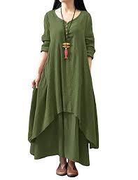 <b>Romacci Women</b> Boho Dress <b>Casual</b> Irregular Maxi Dresses ...