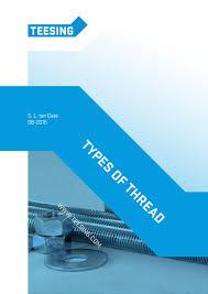 Types of <b>thread</b> by Teesing BV - issuu