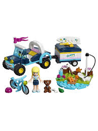 Конструктор <b>LEGO Friends</b> 41364 Багги с прицепом <b>Стефани</b> ...