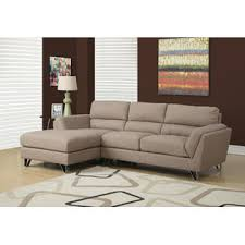 monarch specialties sofa lounger light brown linen fabric brown linen fabric lighting
