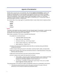 essay agents of socialisation com essay agents of socialisation