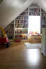 bedroom interior bookcase
