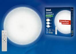 <b>Потолочный светодиодный светильник</b> (UL-00004197) <b>Uniel</b> ULI ...