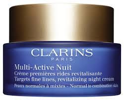 <b>Clarins Multi</b>-<b>Active</b> Ночной <b>крем</b> для лица для нормальной и ...