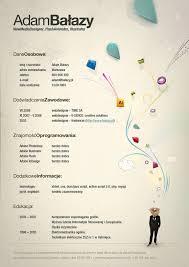 creative graphic resume designs which will amaze youadam balazy creative resume inspiration