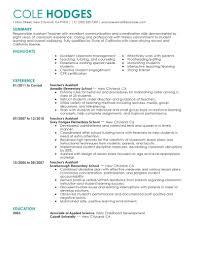 resume preschool teacher cipanewsletter assistant teacher resume getessay biz