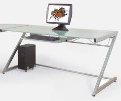 modern full glass desk f computer desk furniture wonderful z legs metal ikea computer desks for amazing cool designer glass desks home