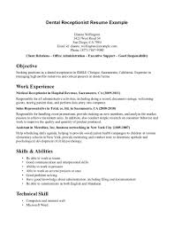 front desk receptionist resume templates cipanewsletter dental front office resume templates make resume