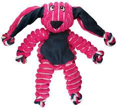 <b>KONG игрушка</b> для собак <b>Floppy</b> Knots Кролик малый 23х14 см