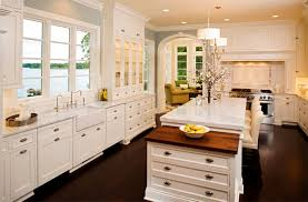 kitchen cabinets with granite countertops:  cool antique white kitchen cabinets with granite countertop