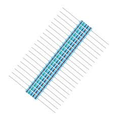 <b>20pcs</b> 2W 1.5KR Metal Film Resistor Resistance 1% <b>1.5K</b> ohm ...